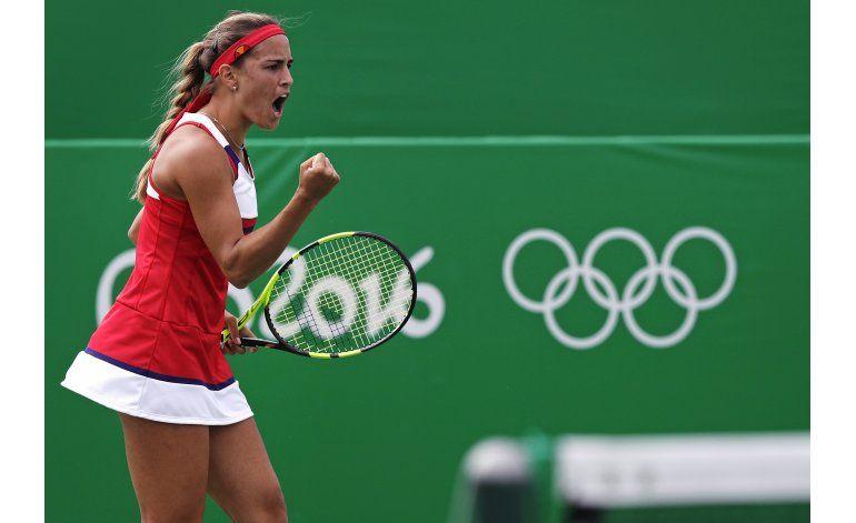 Imparable, Puig avanza a semifinales el tenis olímpico