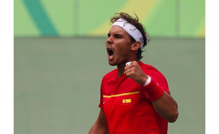 Nadal, Murray y Del Potro en cuartos de final en Río