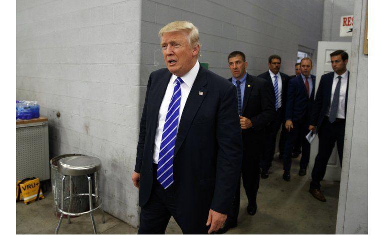 En rara concesión, Trump admite que podría no ganar