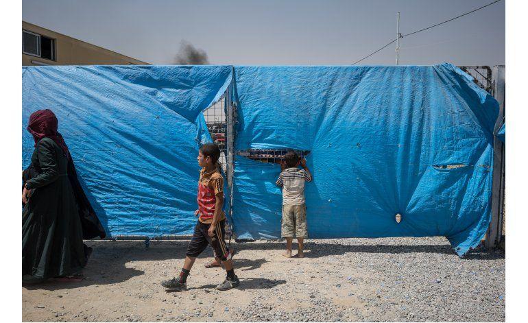 ONU: 100.000 desplazados en avance iraquí hacia Mosul