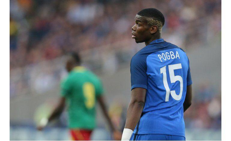 Pogba, suspendido para el primer juego del United