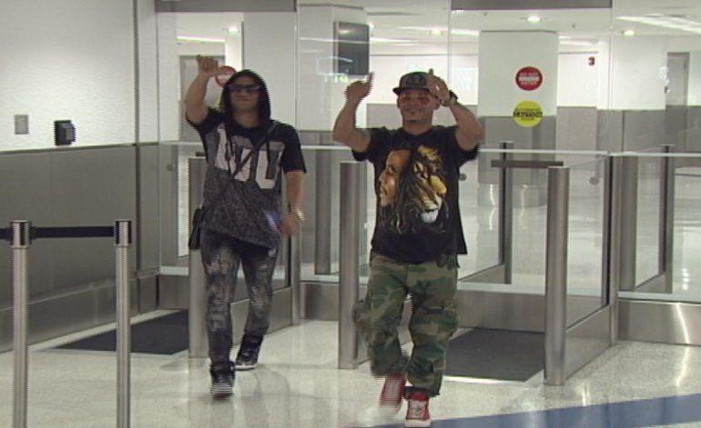 Llegan a Miami los reguetoneros cubanos Candyman y Mucho Manolo