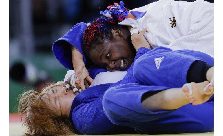 Cubana Ortiz logra plata en judo