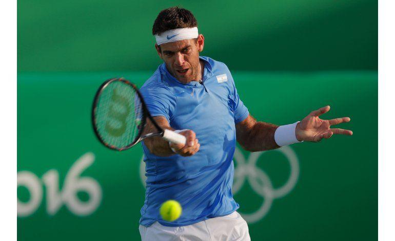 Del Potro se mete en semifinales del tenis olímpico