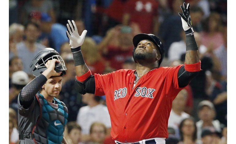Con jonrones de Ramírez y Ortiz, Boston vence a DBacks