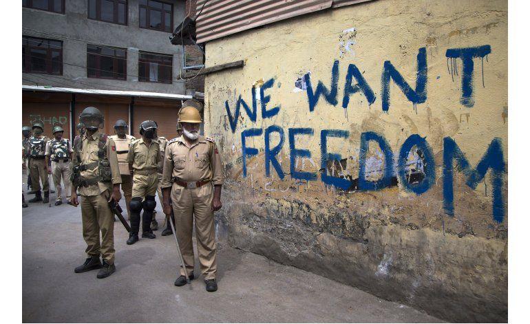 Aumentan llamados a protestas contra la India en Cachemira
