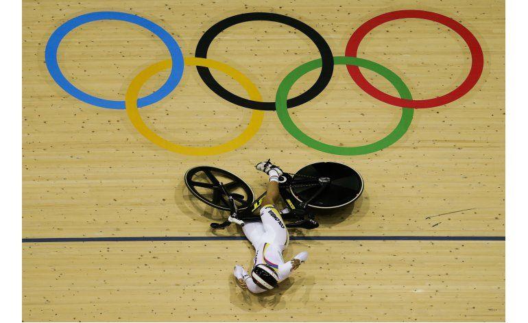 Colombiana Bayona termina 10ma en prueba de keirin en Río