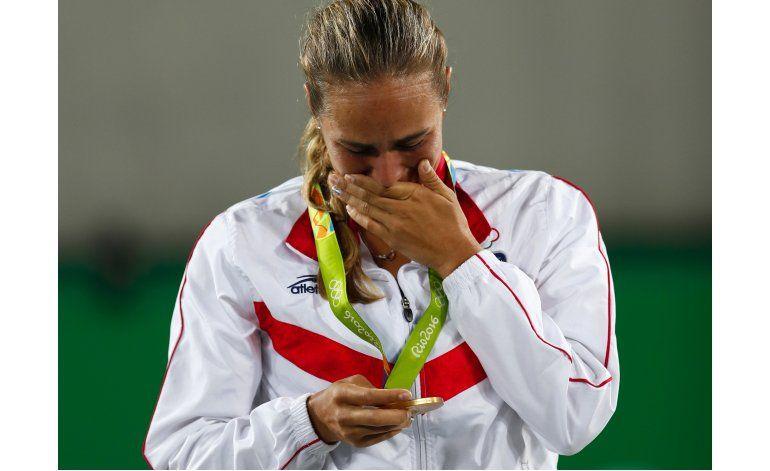 Mónica Puig gana el primer oro olímpico de Puerto Rico