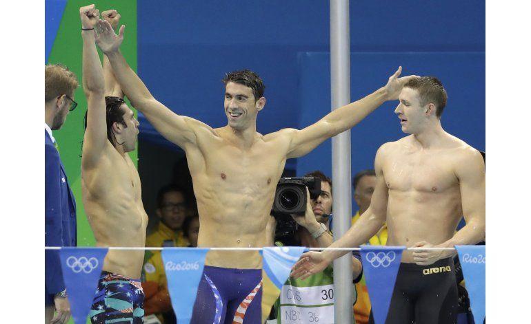Phelps se despide en Río con su 23er oro
