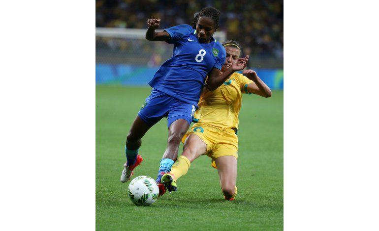 Formiga, la incansable futbolista de los Juegos Olímpicos