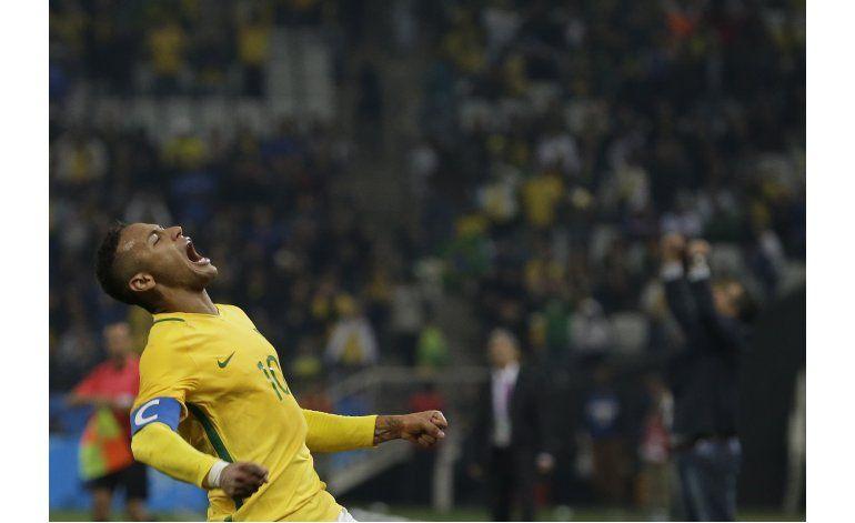 Reaparece Neymar en los Juegos Olímpicos