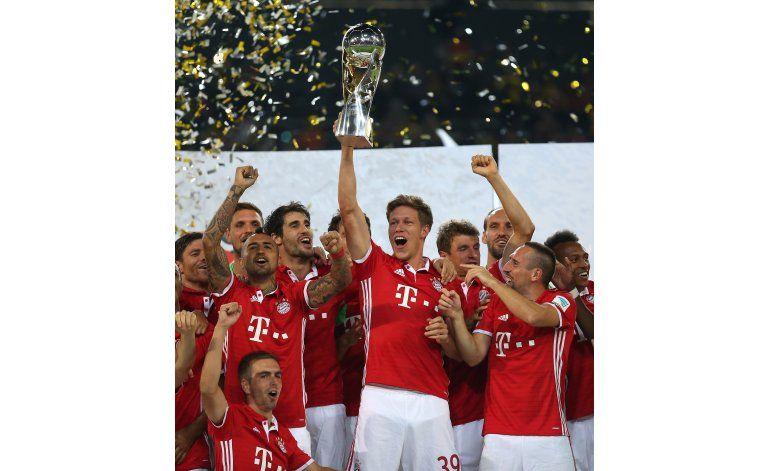 Vidal y Bayern vencen a Dortmund para ganar la Supercopa