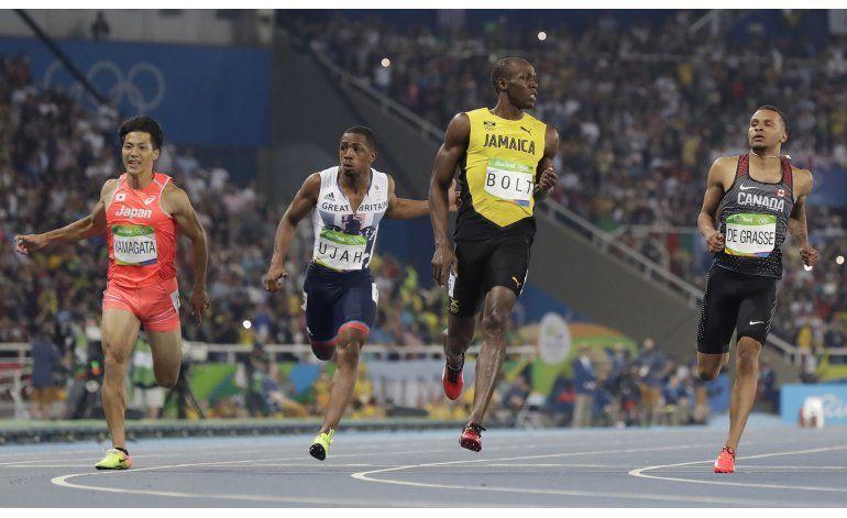 Bolt avanza a final en los 100 metros en Río