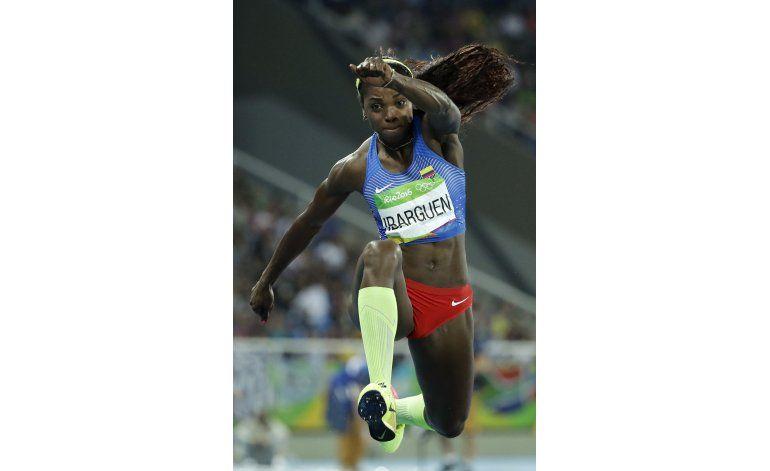 Oro para Ibargüen, plata para Rojas en salto triple olímpico
