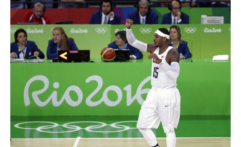 Otro susto: EEUU supera 100-97 a Francia en básquetbol