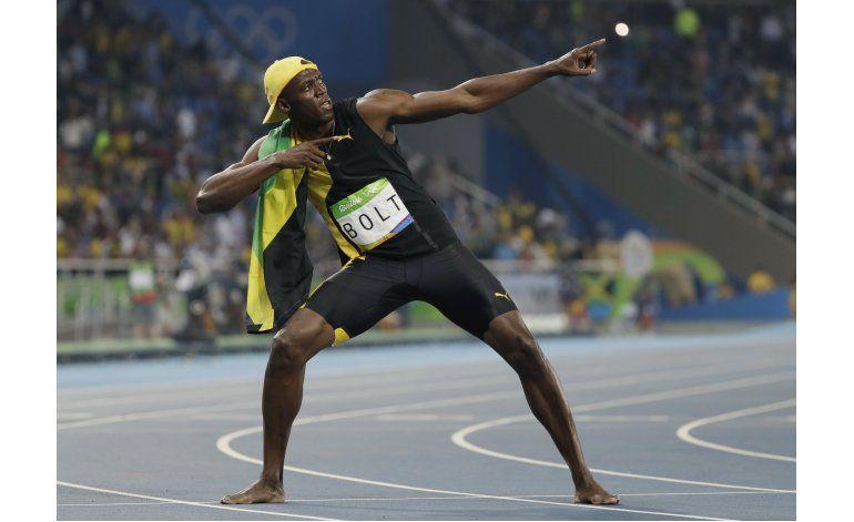 Bolt logra su tercer oro consecutivo en los 100