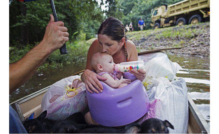 Inundaciones en Louisiana provocan 6 muertos