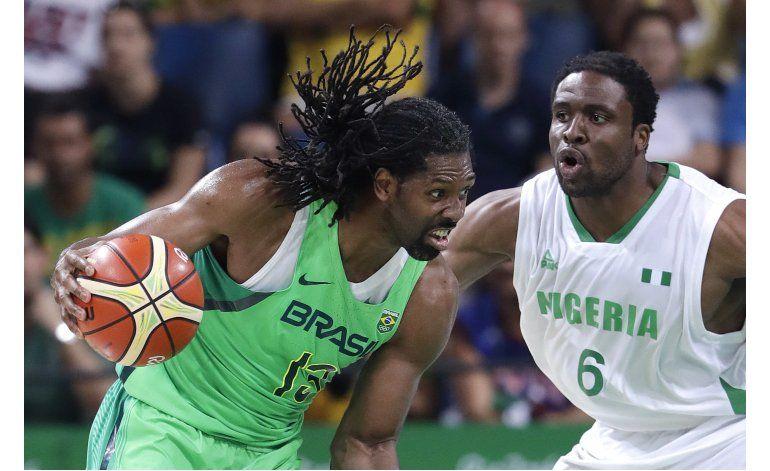 Nene encabeza triunfo de Brasil sobre Nigeria en básquet