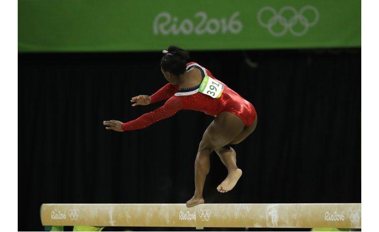Biles no podrá llevarse 5 oros de Río