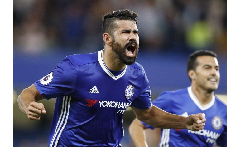 Gol de Costa sentencia victoria de Chelsea ante West Ham