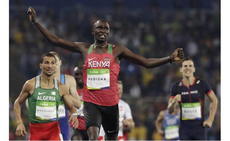 Rudisha revalida su cetro olímpico en los 800 metros en Río