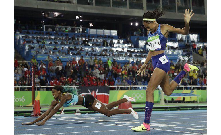 Épico clavado de Miller eclipsa día de récords en atletismo