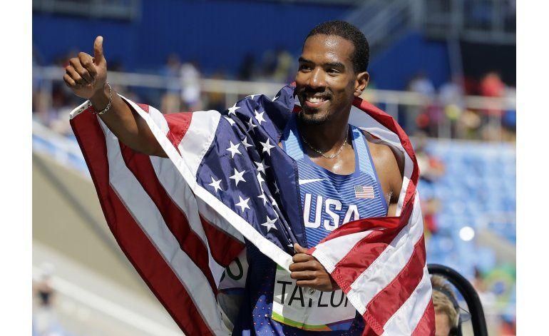 Taylor repite oro en salto triple; colombiano Murillo es 5to