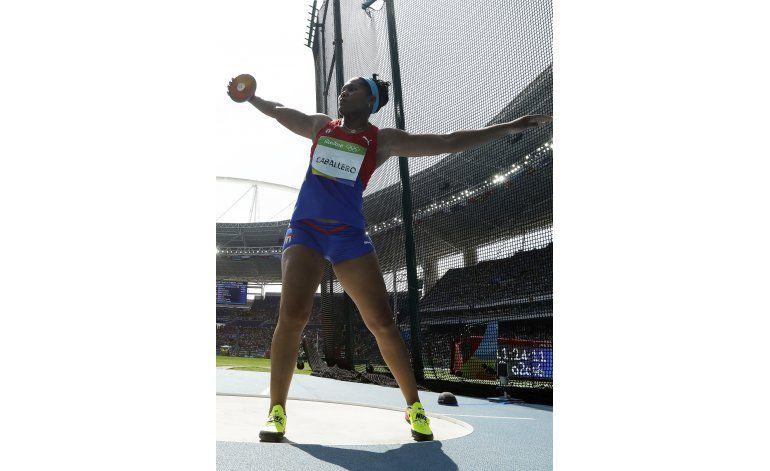 Cubana Caballero se lleva el bronce en lanzamiento de disco