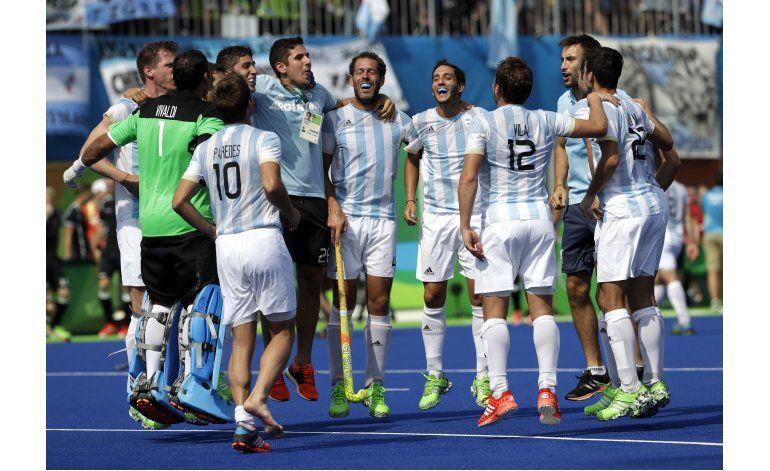 Argentina finalista por primera vez en hóckey masculino