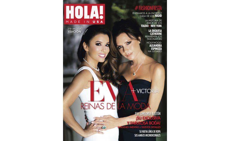 Con Longoria y Beckham en su portada, debuta HOLA! USA