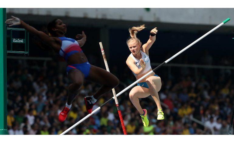 Cubana  va por el oro en salto pértiga