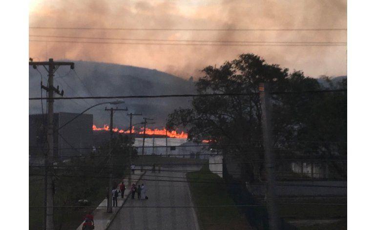LO ÚLTIMO: Incendio no daña ruta de ciclismo de montaña