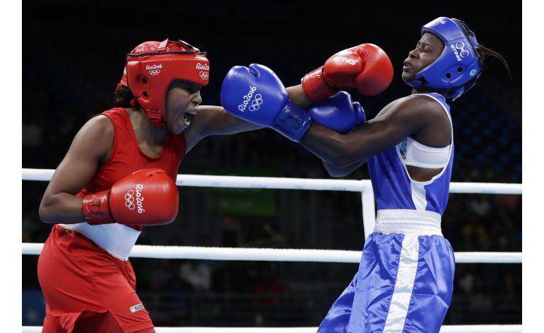 Valencia, primera colombiana en boxeo olímpico con medalla