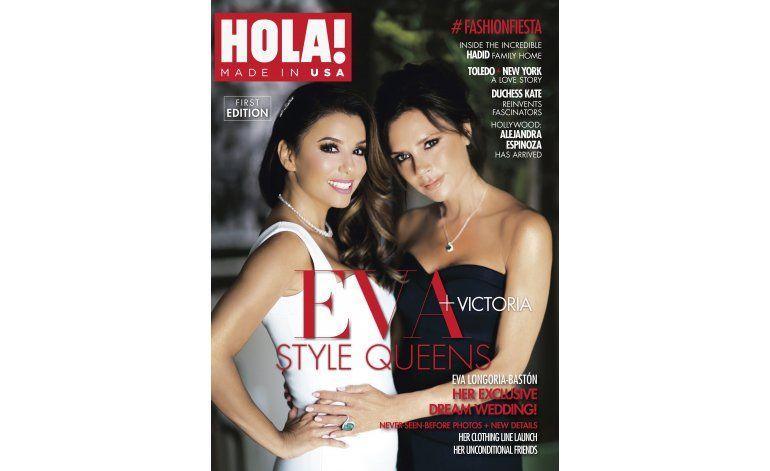 Con Longoria y Beckham en su portada debuta HOLA! USA