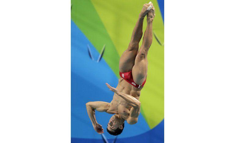 Mexicano Pacheco culmina en 7mo en final de trampolín en Río
