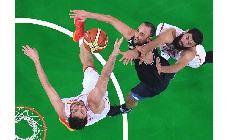 Vieja guardia argentina contra EEUU en básquet