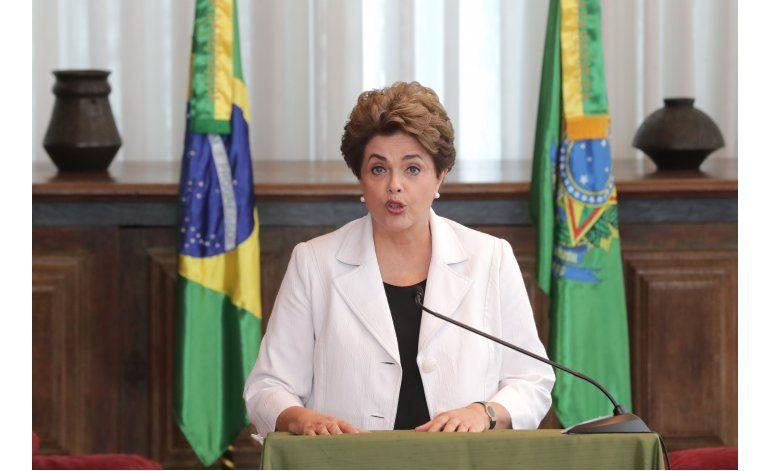 Rousseff propone plebiscito si es reinstalada en presidencia