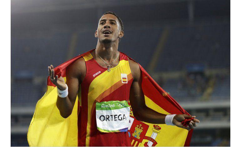 Cubano Ortega gana plata por España en 110 vallas