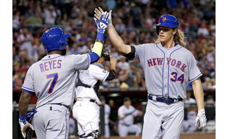 Syndergaard pega jonrón y gana y Mets derrotan a Arizona