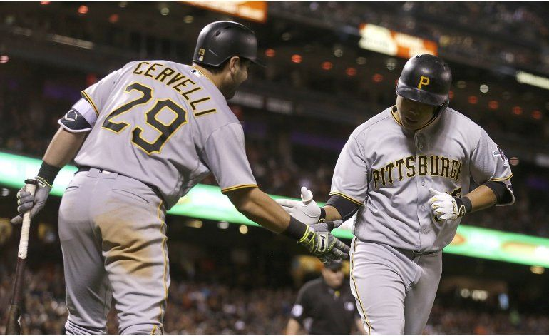 Piratas derrotan a Gigantes con jonrón de Kang en 8vo inning