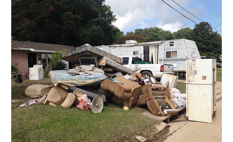 Comienza recuperación tras inundaciones en Louisiana