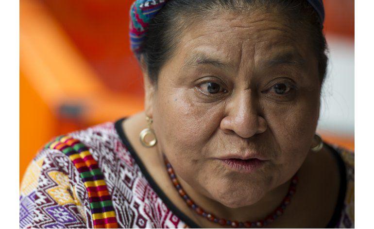 Rigoberta Menchú se suma a mujeres contra la violencia
