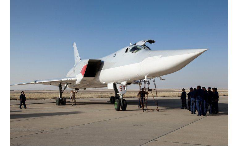 Irán admite que Rusia utiliza su base para ataques en Siria