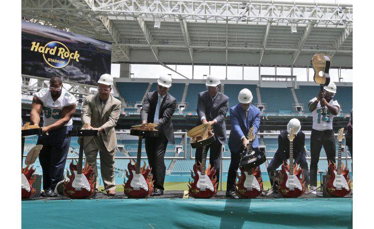 Estadio de los Dolphins ahora llevará el nombre de Hard Rock