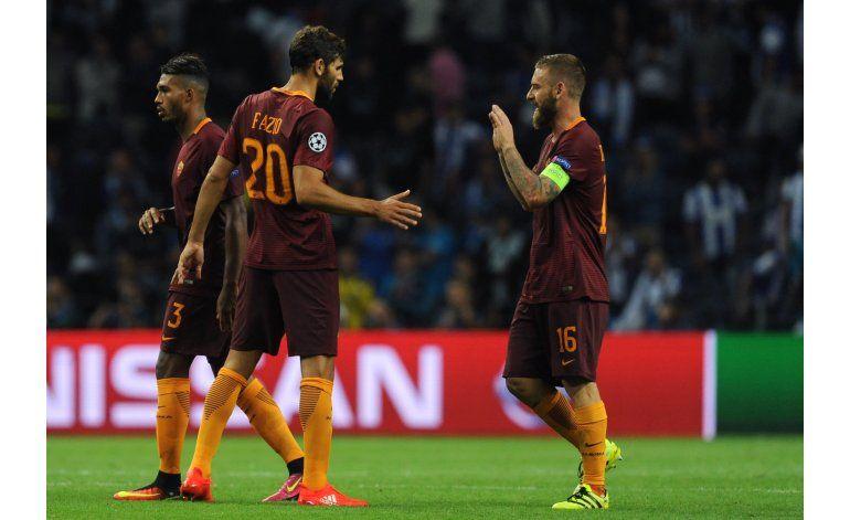 Roma rescata empate 1-1 en visita al Porto