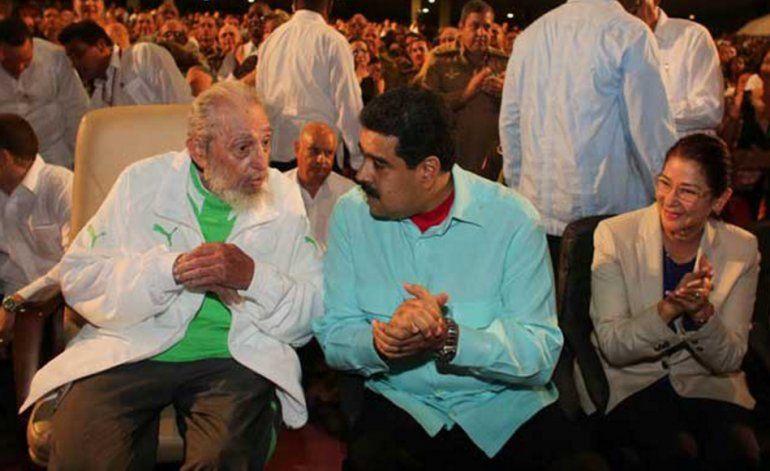 Maduro  gastó casi medio millón dólares para celebrarle el cumpleaños a dictador Fidel Castro