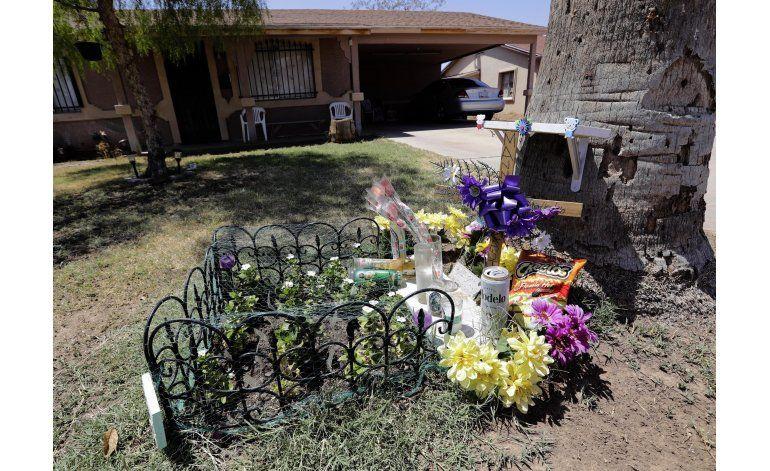 Hallan 10 casquillos en la búsqueda de asesino de Phoenix