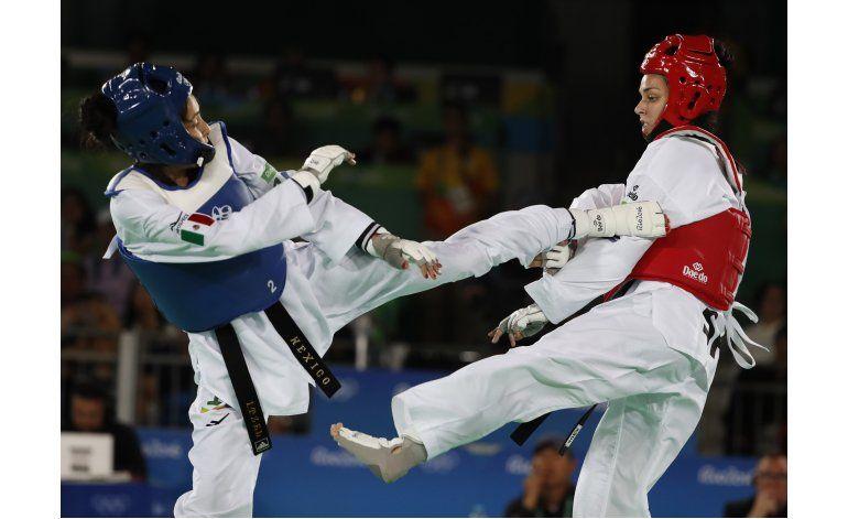 México se queda a un paso del podio olímpico en taekwondo