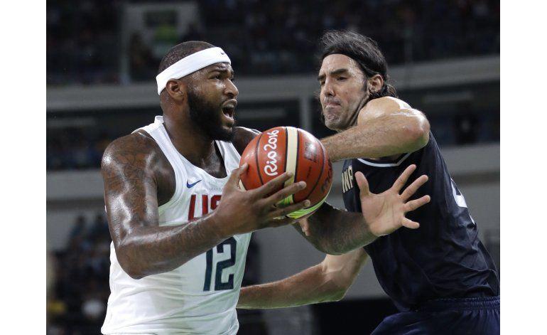 Estados Unidos avanza a semifinales con paliza a Argentina