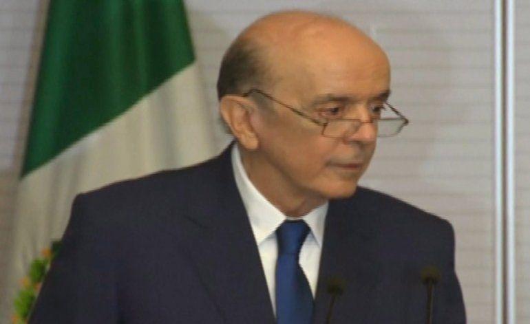 Canciller de Brasil afirma que en Venezuela hay un régimen autoritario y no puede presidir Mercosur